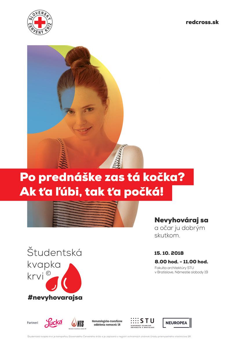 Študentská kvapka krvi začne 15.10. na Fakulte architektúry