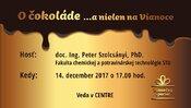 O čokoláde s Petrom Szolcsányim z FCHPT STU