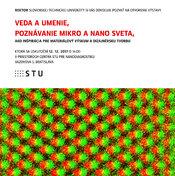 Vernisáž: Veda a umenie, poznávanie mikro a nanosveta