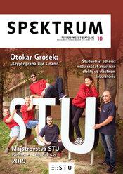 Nové číslo časopisu SPEKTRUM 10 [2018/2019]