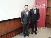 STU má záujem o spoluprácu s čínskymi partnermi