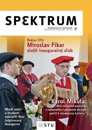 Nové číslo časopisu SPEKTRUM 9 [2018/2019]
