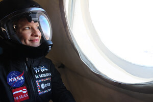 The World-class Woman from the Mars Missions works for STU