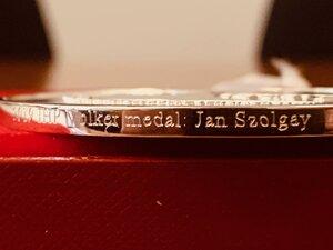 Volkerova medaila za hydrológiu pre Jána Szolgaya