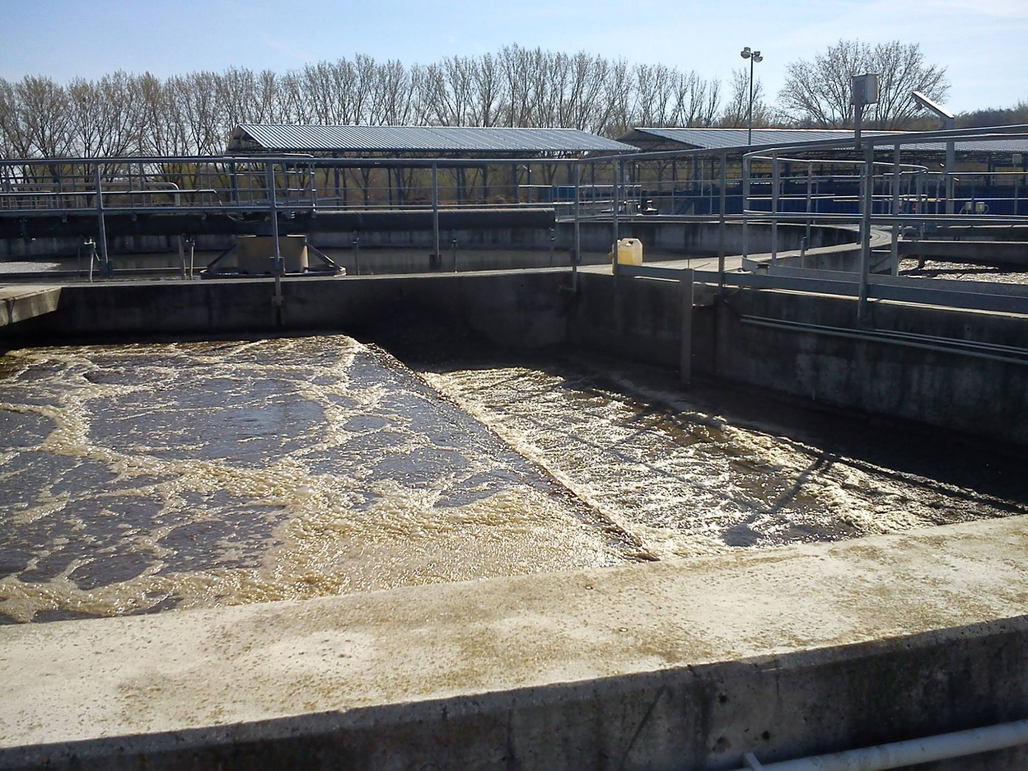 analysis of the wastewater