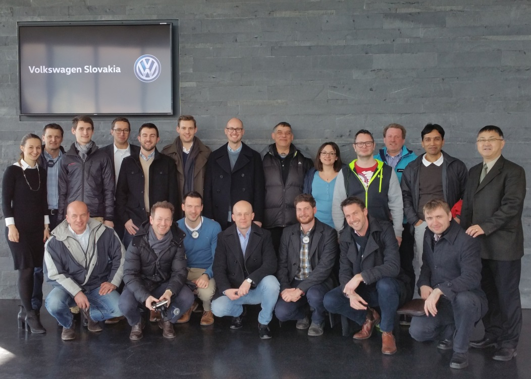 Professional MBA Automotive Industry Excursion to Volkswagen Slovakia (7th Group)