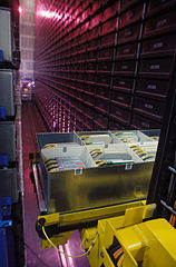 Example of an automated storage and retrieval system