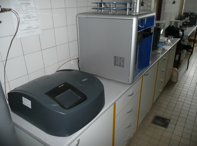 laboratorium analyz polutantov