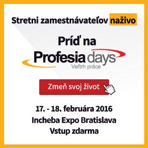 Profesia days 2016
