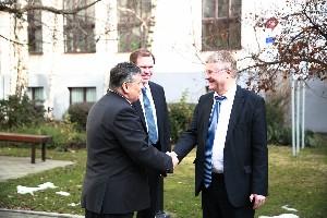 Návšteva predsedu Európskeho výboru regiónov