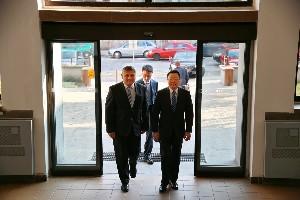 Návšteva veľvyslanca ČĽR