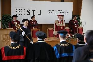 Slavnostné zasadnutie VR STU