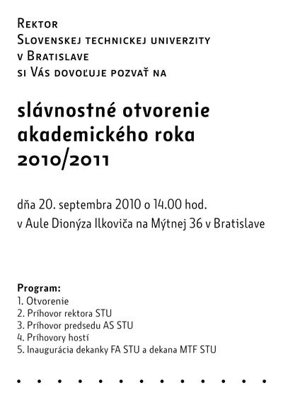 zahajenie 2010