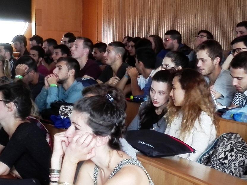 Stretnutie so zahraničnými študentmi na STU